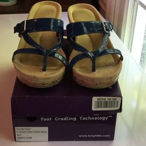 Cheeks fit body size 9 women's shoes wedge Sandle